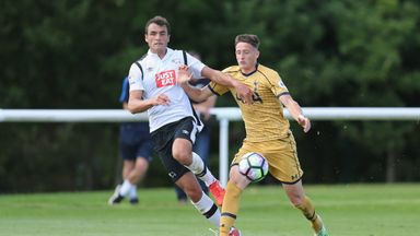 Farrend Rawson (left) has gone on loan to Coventry City