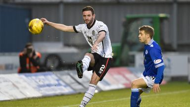 Jason Naismith (L) has left St Mirren and joined Ross County