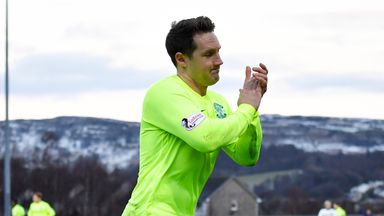 Kris Commons scored the only goal of the game at Dumbarton