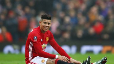 Marcos Rojo underwent surgery on injured knee ligaments in May