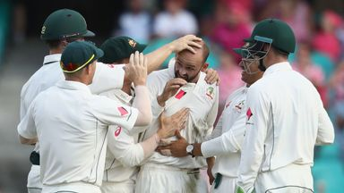 Lyon took out the Indian middle order in a superb spell