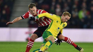 Norwich's Alex Pritchard is attracting Premier League interest
