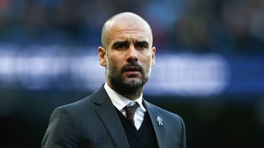Pep Guardiola has yet to decide who will start in goal