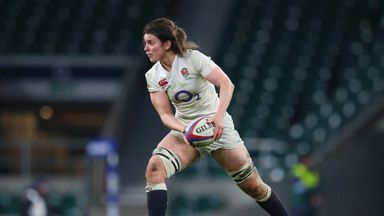 England captain Sarah Hunter will make her 100th Test appearance on Tuesday