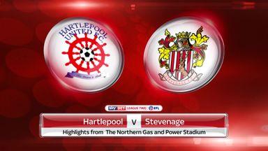 Hartlepool 2-0 Stevenage