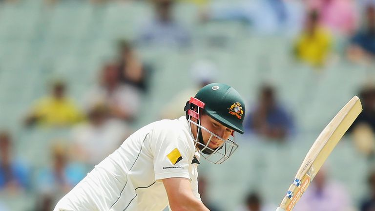 MELBOURNE, AUSTRALIA - DECEMBER 28:  Matthew Renshaw of Australia bats  during day three of the Second Test match between Australia and Pakistan at Melbour