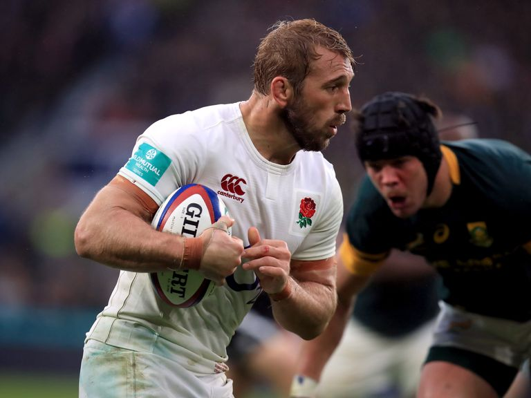 Chris Robshaw will Miss the Six Nations with a Shoulder Injury
