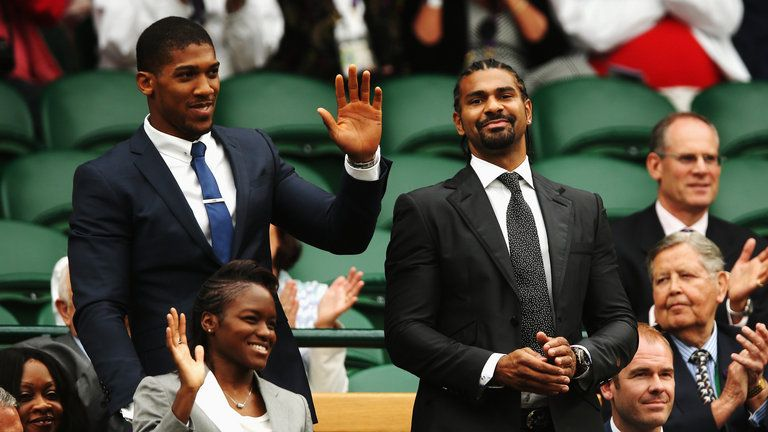 Will Joshua and Haye serve up Nelson's 2018 dream?