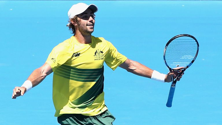 Thompson leads Australia to Davis Cup victory