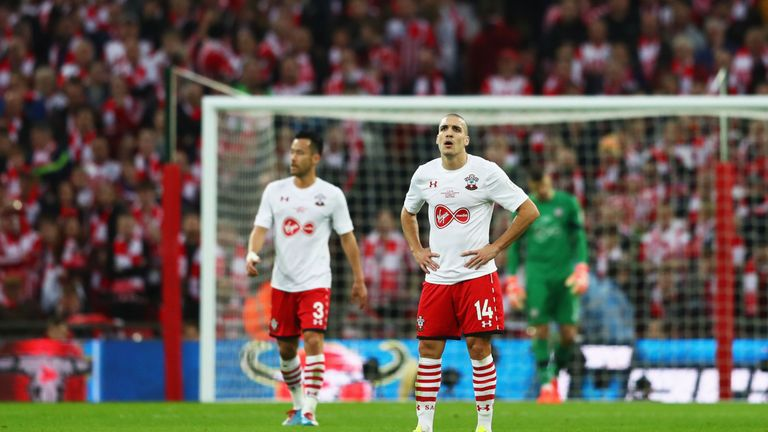 Southampton were beaten in the EFL Cup final by Manchester United