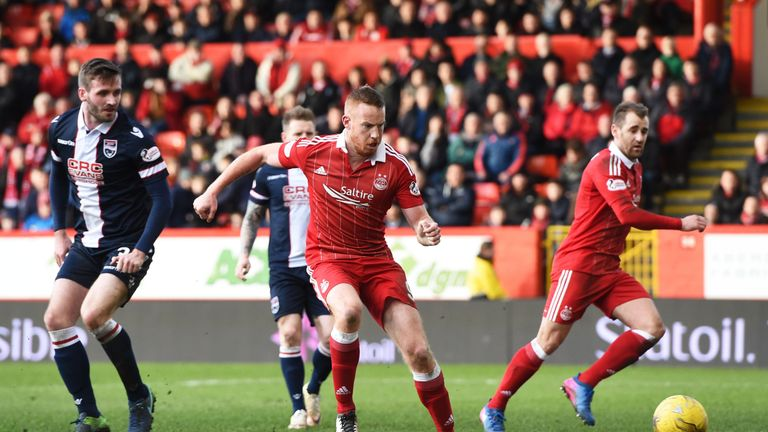 Adam Rooney already has 16 goals to his name for Aberdeen this season