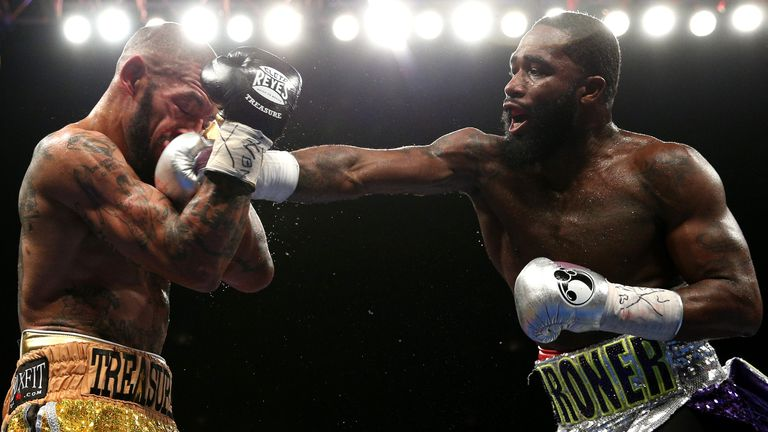 Broner stopped Ashley Theophane in his only fight of 2016