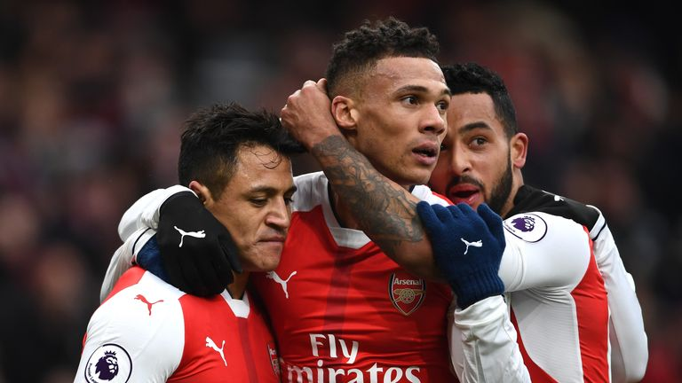 Kieran Gibbs has struggled to hold down a first-team place at Arsenal