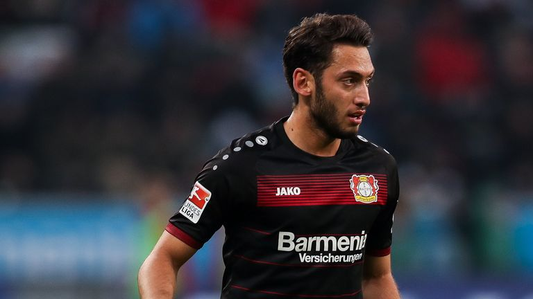 Hakan Calhanoglu says he hopes he is managed by former boss Roger Schmidt in the future