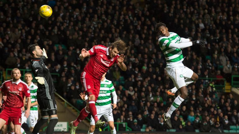 Boyata opens the scoring for Celtic