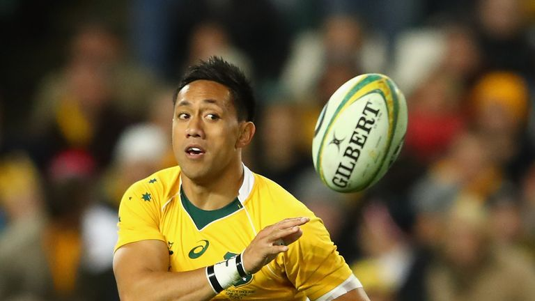 Lealiifano has won 19 caps for the Wallabies