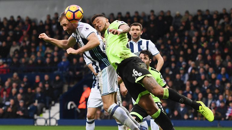 West Brom are one of the league's strongest at defending set pieces