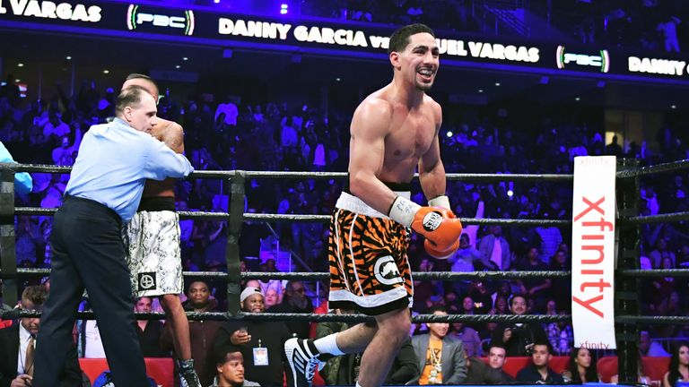 Danny Garcia holds the WBC title in the welterweight division