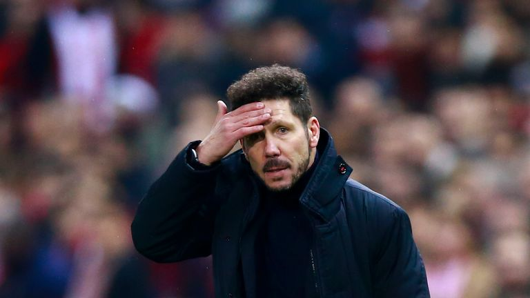 Diego Simeone is under no illusions at the task lying in front of his Atletico side