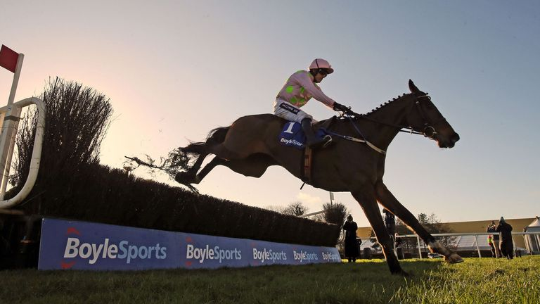 Douvan: Among ten entries for Red Mills Chase
