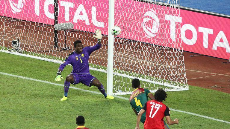 Arsenal midfielder Mohamed Elneny opened the scoring for Egypt