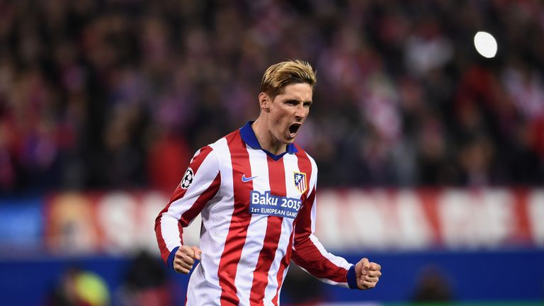 Fernando Torres scored twice for Atletico at the weekend