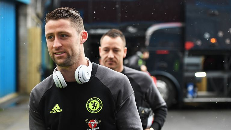 Gary Cahill misses Saturday's game with Spurs