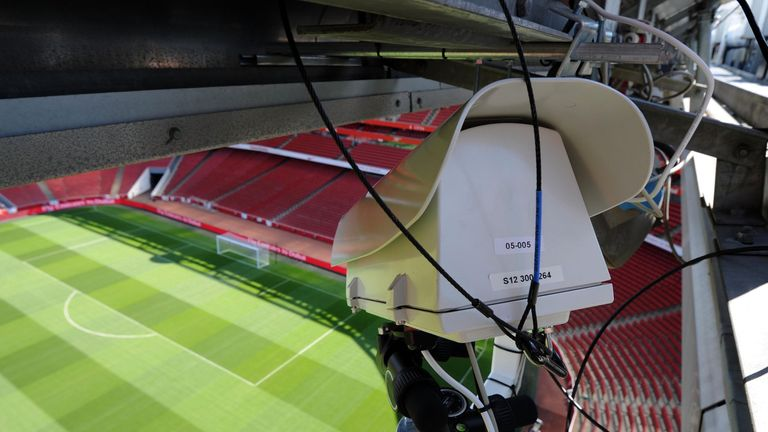 Goal-line technology was introduced in the Premier League in 2013
