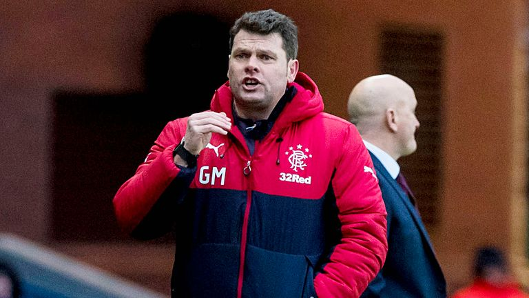 Murty took charge for Rangers' win over Morton