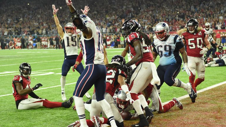 James White scored the game-winning touchdown to clinch a fifth Patriots title