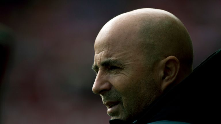 Sevilla head coach Jorge Sampaoli has been a reported target for Barcelona