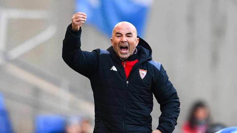 Sevilla coach Jorge Sampaoli