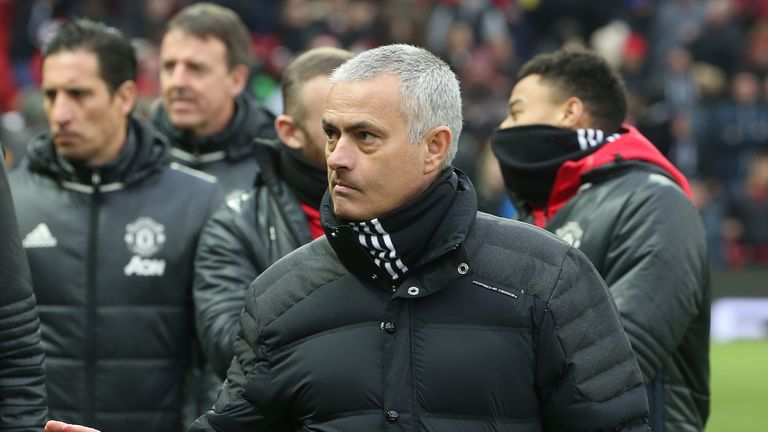 Jose Mourinho believes his reputation as a defensive-minded coach means Man Utd are not getting enough plaudits
