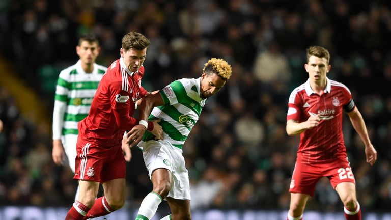 McLean puts Scott Sinclair under pressure