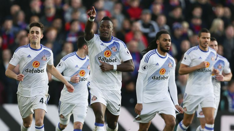 Kone put in a fine shift for Sunderland during the 4-0 victory