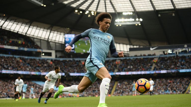 Image result for Sane Man City