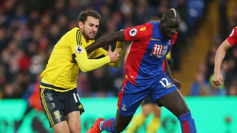 Sakho has played a key role in Crystal Palace's Premier League revival