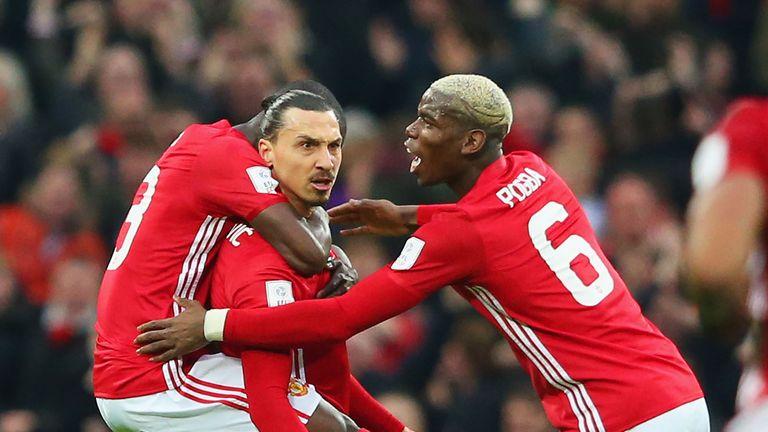 Ibrahimovic still a leader at Old Trafford - Pogba