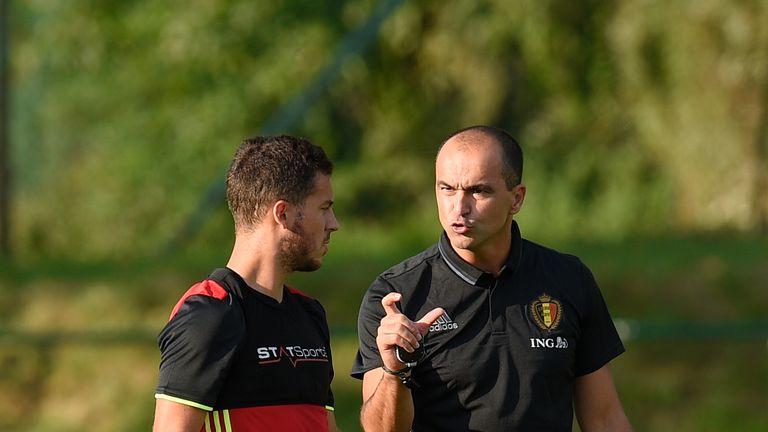 Martinez is Hazard's manager at international level