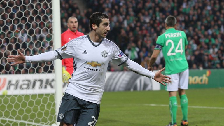 Henrikh Mkhitaryan scored the only goal of the game