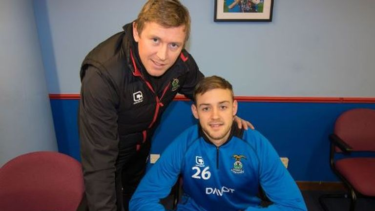 Louis Laing signed for Inverness until the end of the season last month