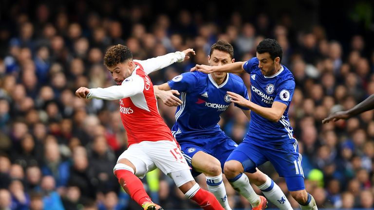 Arsenal are 'falling short', according to Neville