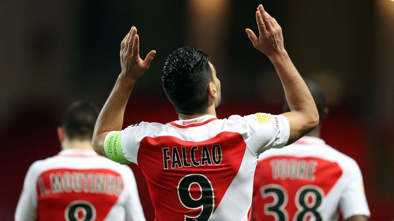 Falcao has been the driving force behind Monaco rise to the top of Ligue 1