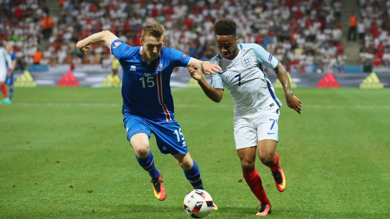 Iceland beat England 2-1 at the last 16 stage