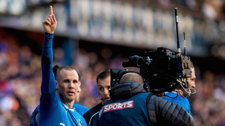 Rangers striker Kenny Miller will hope to have more goals to celebrates