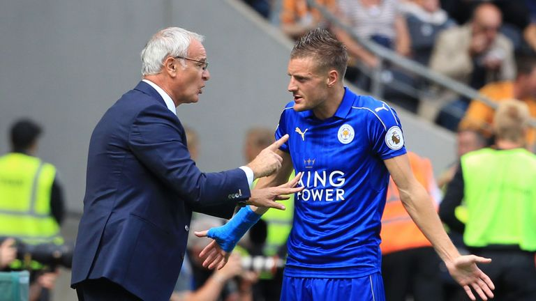 Claudio Ranieri and Jamie Vardy sorted their problems out