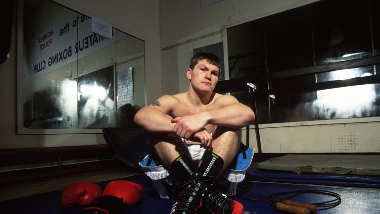 Hatton was one of the hottest talents in British boxing