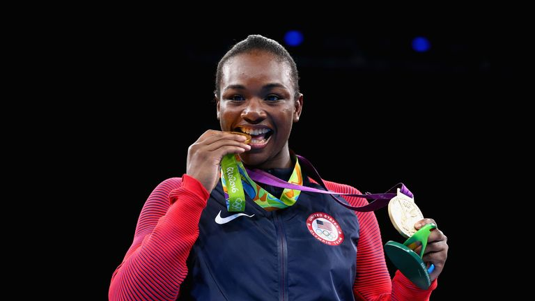 Claressa Maria Shields became the first American to retain an Olympic title when she won gold last summer in Rio