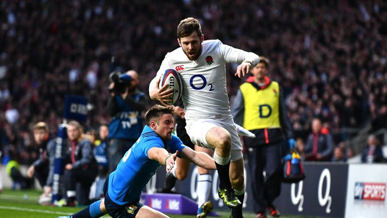 Elliot Daly's try gave England a lead that would not relent