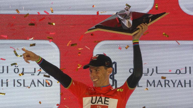 Riders battle for top honours on Abu Dhabi Tour's climbing stage